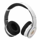 Syllable G08L-002 Hi-Fi Headset w/ Microphone for Iphone 4S / 5 / Laptop Computer - White + Black