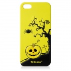 Benks Pumpkin Pie Series Protective PU Leather Back Case for Iphone 5 - Yellow