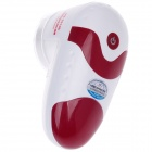 HONGSHENG HS-2012B 3W Fabric Fuzz Shaver Razor / Trimmer - White + Red (2 x AA)