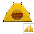 MD01 Convenient Outdoor Folding Tent Yurt for Cat / Dog - Yellow