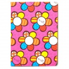 Protective Cute Sun Flower Pattern PU Leather Case for Ipad 3 / 4 - Mulitcolored