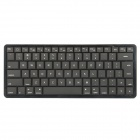Jeesan i620 Ultra-thin Mini Bluetooth V3.0 83-Key Keyboard for Ipad / Iphone - Black