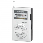 OJADE OE-1204 FM/AM Radio Receiver - White + Black