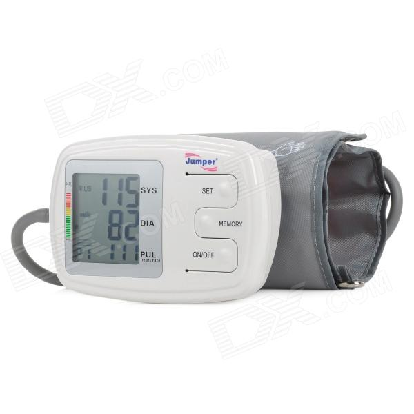 Jumper JPD-900A Upper Arm Digital Blood Pressure Monitor - White