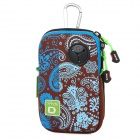 DAVS B18103 Fashionable Pattern Hanging Type Water Resistant Storage Pouch Bag - Multicolored