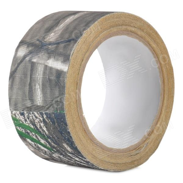 NONE Outdoor War Game Multifunctional Camouflage Adhesive Tape - Camouflage Grey