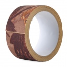 NONE Outdoor War Game Multifunctional Camouflage Adhesive Tape - Camouflage Brown