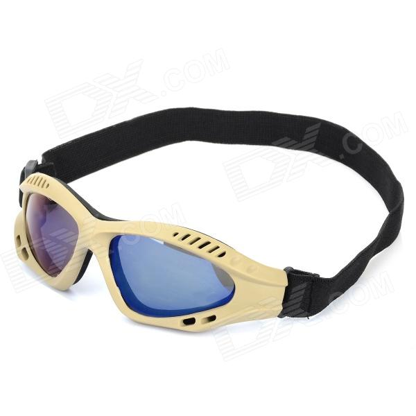 SW3070 Outdoor Tactic Sports / Exercise Protective Goggles - Earthy