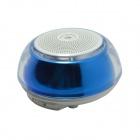 YX-05 Bluetooth  Stereo Speaker w/ Microphone / Handsfree - White + Blue