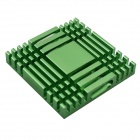 High Performance Aluminum Heatsink Radiator - Green (37 x 37 x 6mm)