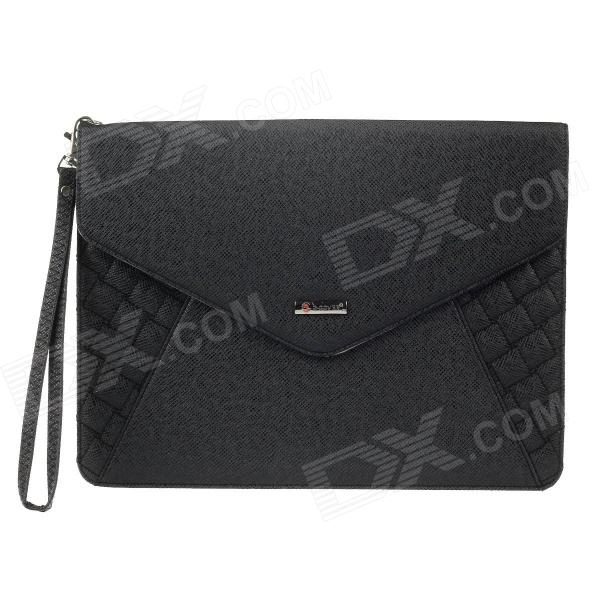 "G-COVER Bolsa de couro PU para Ipad 3 / 4 / Samsung Galaxy Tab P5100 9.7""~10.3"" Tablet PC - Preto"