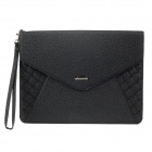 "G-COVER PU Leather Handbag for Ipad 3 / 4 / Samsung Galaxy Tab P5100 9.7""~10.3"" Tablet PC - Black"