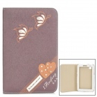 ENKAY ENK-7029 Stylish PU Leather Case w/ Stand for Samsung Galaxy Tab P3100 / P3110 / P6200 / P6210