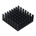 HighPerformanceCopper+AluminumHeatsink-Black(28x28x11mm/2PCS)