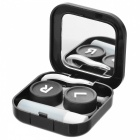 JieDa A015 Contact Lenses Case - Black