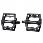 Mysenlan Aluminum Alloy Bike Bicycle Pedals - Black (Pair)