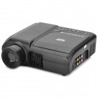 Portable DVD Player Home Theater Projector - Black