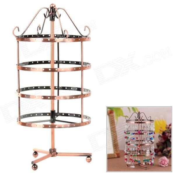 Zinc Alloy Rotatable Jewelry Ornaments Display Holder - Bronze