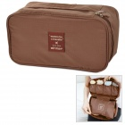 WINNER A124 Outdoor Travel Nylon Underwear Storage Bag - Brown