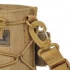 Free Soldier spb90 Outdoor Nylon MOLLE Water Bottle Carrying Bag - Yellowish Brown