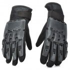 SW3080 Outdoor Sports volle Finger Tactical Gloves - Schwarz (Paar / Größe M)