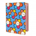 Cartoon Sunflower Style Protective PU Leather + TPU Case for Ipad 3 / 4 - Multicolor
