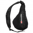 Naturehike utomhussporter triangulär form Messenger Shoulder Bag - Svart