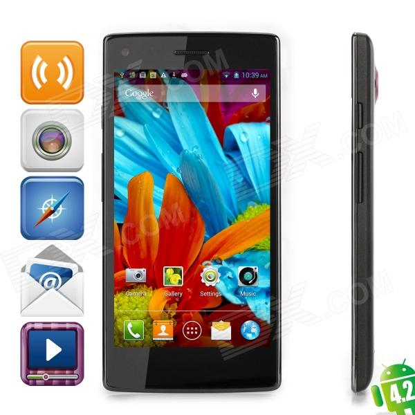 "THL W11 Android 4.2 Quad-core WCDMA Phone w/ 5.0"" Screen, RAM 1GB, ROM 16GB and Dual 13MP Cameras"