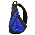 Naturehike Outdoor Sports Triangular Shoulder Bag - Black + Blue
