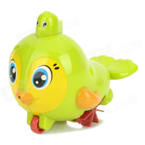 Bird Style Water Spraying / Running Baby Bathing Toy - Green + Yellow + Red