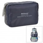 WELLHOUS WH-00325 Travel Wash Toiletries Management Storage Bag - Grey