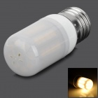SENCART E27 7W 180lm 3500K 45-5050 SMD LED Warm White Light Bulb - White (95~265V)