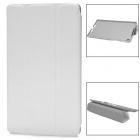 Ultrathin Protective PU Leather Case w/ Sleep Mode for Google Nexus 7 II - White