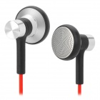 CM600 In-Ear Noise Isolating Earphone w/ 3.5mm Plug - Silver + Black + Red