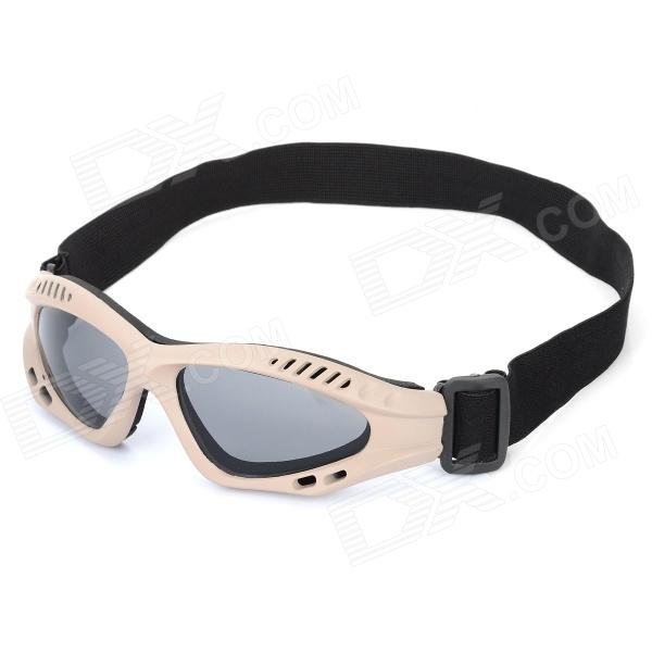 SW3072 Outdoor Tactic Sports / Exercise Protective Goggles - Earthy sw3069 outdoor tactic sports exercise protective goggles black