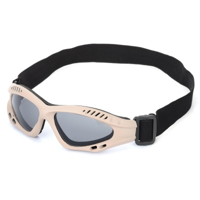 SW3072 Outdoor Tactic Sports / Exercise Protective Goggles - Earthy