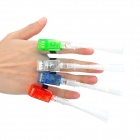 G-472 Stylish Optical Fiber LED Finger Lamp - Red + Blue + Green + White (4 PCS) (3 x L736)