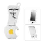 CHEERLINK  ABS Cell Phone Desktop Stand & Bottle Opener - White