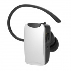Bluextel BT06 Bluetooth V3.0 + EDR Earbud Headset w/ Microphone for Iphone 4S + More - White + Black