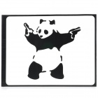 "PAG Panda Style Decoration Sticker for Macbook 11"" / 13"" / 15"" - Black"
