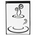 "PAG Coffee Style Decoration Sticker for Macbook 11"" / 13"" / 15"" / 17"" - Black"