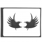 "PAG Fly Wings Style Decoration Sticker for Macbook 11"" / 13"" / 15"" / 17"" - Black"