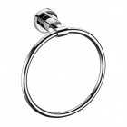 Fully Copper Bathroom Towel Ring Holder - Silver
