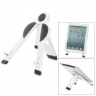 Fashion Multifunction Tripod Stand Holder for Talbet PC - Black + White