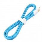 Micro USB Male to USB 2.0 Male Data Sync / Charging Cable for Samsung Galaxy S4 i9500 - Blue (116cm)
