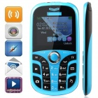 "CALSEN C909 GSM Bar Phone w/ 2.2"", Tri Network Standby, Bluetooth, Quad-Band, TV, FM - Blue + Black"