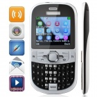 "CALSEN C901 GSM Bar Phone w / 2,2 "", Tri Network Standby, Bluetooth, Quad-Band, TV, FM - White + Black"