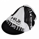 NUCKILY CAP3539 Stylish UV Protection Dacron Cycling Cap Hat - Black + White