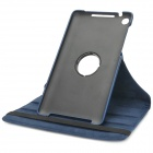 Protective 360 Degree Rotation PU Leather Case for Google Nexus 7 II - Blue