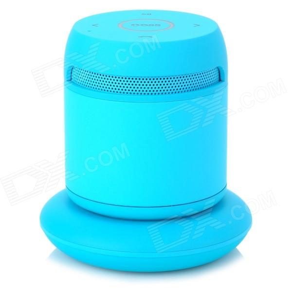 DOSS DS-1189 Wireless Bluetooth V3.0 2-CH Speaker w/ Mic + Charging Dock for Cellphones - Blue doss ds 1511 mini bluetooth speaker portable outdoor music box